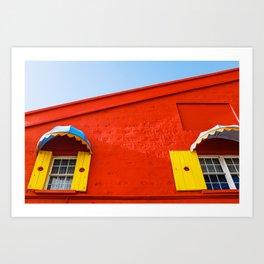 Barbados Shutters Art Print