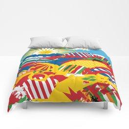 Flagscapes: World Farmscape Comforters