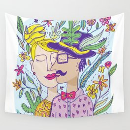 Spring Love Wall Tapestry