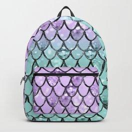 Mermaid Princess Glitter Scales #2 #shiny #pastel #decor #art #society6 Backpack