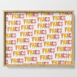 FRIES Serving Tray