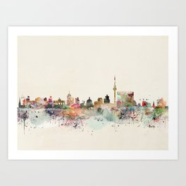 berlin germany Art Print
