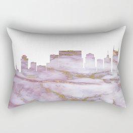 Nashville Tennesse Skyline Rectangular Pillow