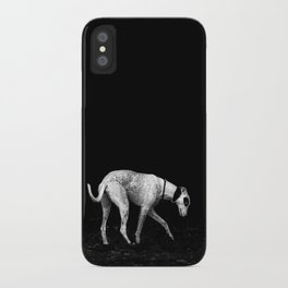 silver shadow iPhone Case