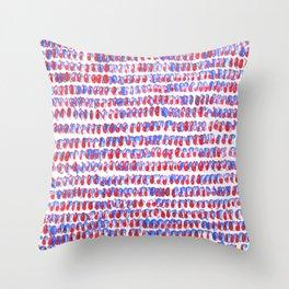 crazy kind of zen  Throw Pillow