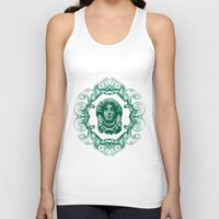 haunted mansion Tank Tops featuring Haunted Mansion - In Regions Beyond Now by Joel Dickinson