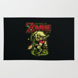 Legend of Zombie Rug
