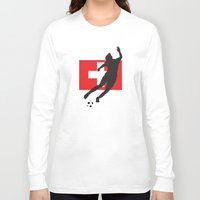 switzerland Long Sleeve T-shirts featuring Switzerland - WWC by Alrkeaton
