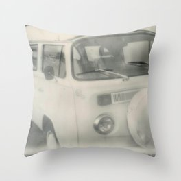 Back on the Wagen  Throw Pillow