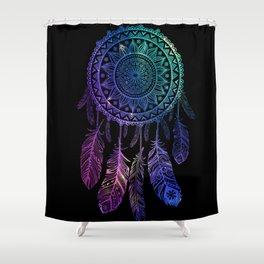 Galaxy Dreamcatcher Shower Curtain