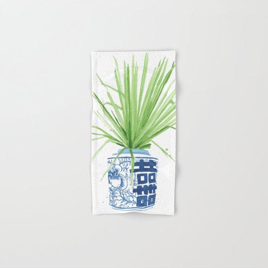 Ginger Jar + Fan Palm Hand & Bath Towel
