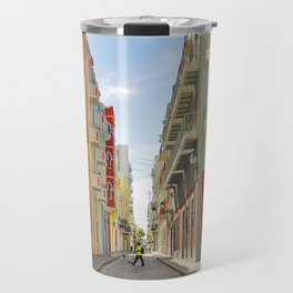 Streets of Old San Juan Travel Mug