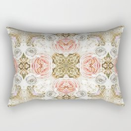 Vintage Floral Two Rectangular Pillow