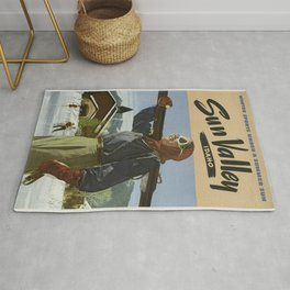 Vintage poster - Sun Valley Rug