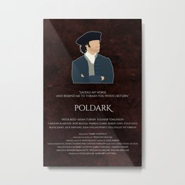 Poldark Metal Print