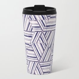 Abstract striped pattern.3 Travel Mug