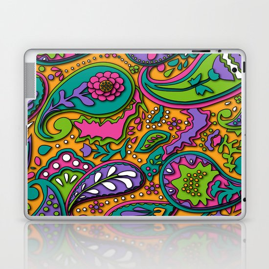 Paisley Laptop & iPad Skin
