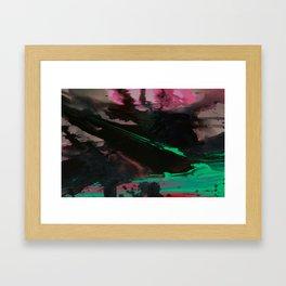 Wet paint 4 Framed Art Print