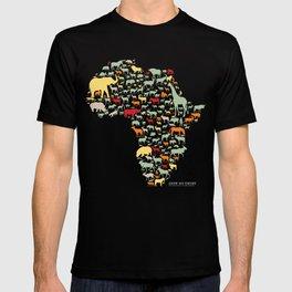 Endangered Safari - without animal names T-shirt