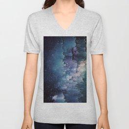 Iced Galaxy Unisex V-Neck
