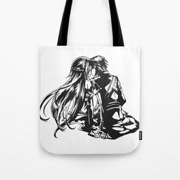 Asuna & Kirito Love Tote Bag