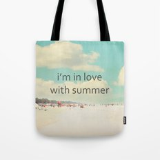 i'm in love with summer Tote Bag