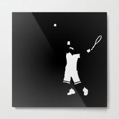 Tennis player Metal Print