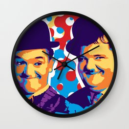 L&H  HOLLYWOOD Wall Clock