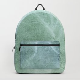 Silver green Backpack