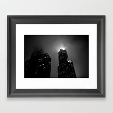 The Torch of Chicago Framed Art Print