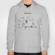 Anatomy of an Elephant Hoody