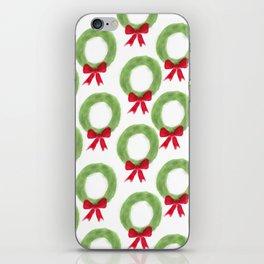 Wreath Pattern iPhone Skin
