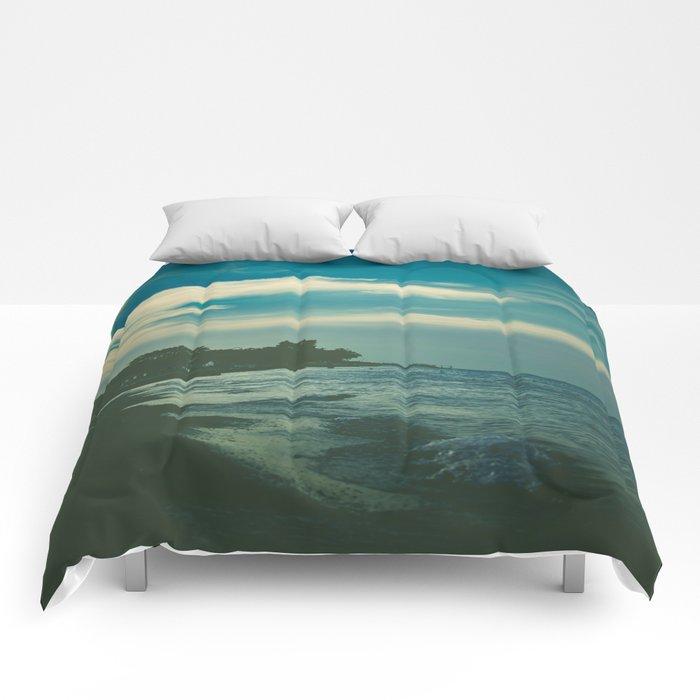 Good Bye Blue Sky Comforters