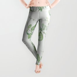 Floating Peas Leggings
