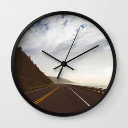 Roadtrip Route Wall Clock