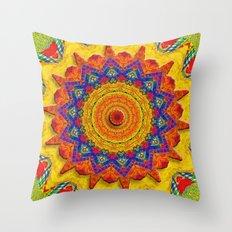 Fiesta Mosaic Throw Pillow