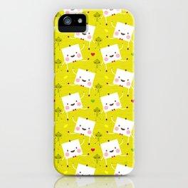 I love Veggies iPhone Case