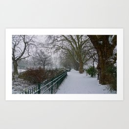 On a Winter's Day Art Print
