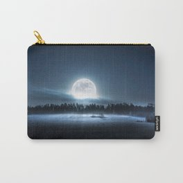 When the moon wakes up Carry-All Pouch