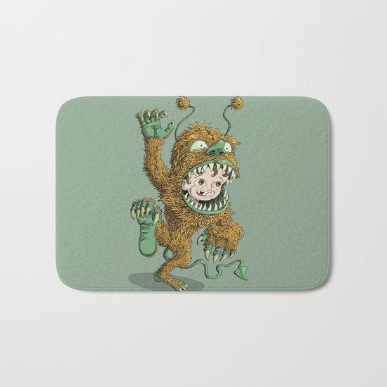 Monster Inside Bath Mat