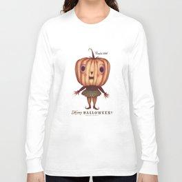 Pumpkin Witch Long Sleeve T-shirt