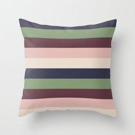 Stripes 3 Throw Pillow