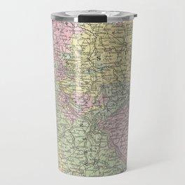 Vintage Map of Germany (1853)  Travel Mug