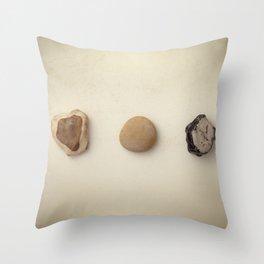 Small stones Throw Pillow