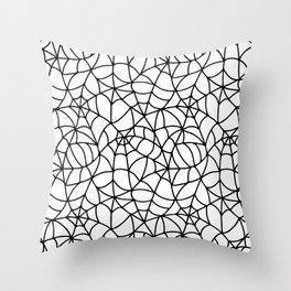 Web Pattern Throw Pillow