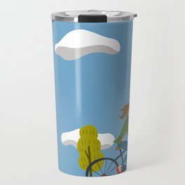 Bike Girl Travel Mug