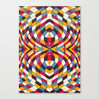 stained glass Canvas Prints featuring Stained Glass by Danny Ivan