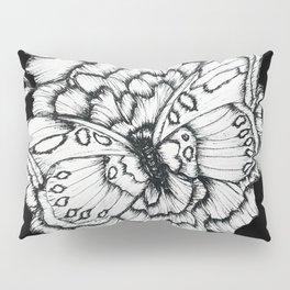 Black Flutter Pillow Sham