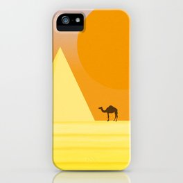 In the desert... iPhone Case