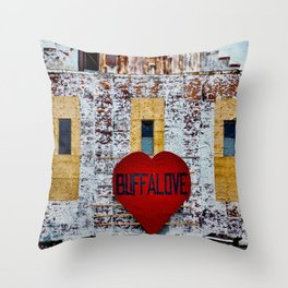 Buffalo Urban statement Throw Pillow